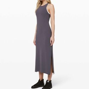 Lululemon Get Going Dress In Moonwalk Sz 8
